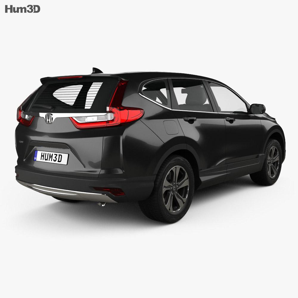 honda cr v lx 2017 3d model hum3d