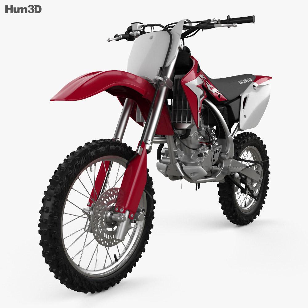 Honda CRF150R 2018 3d model