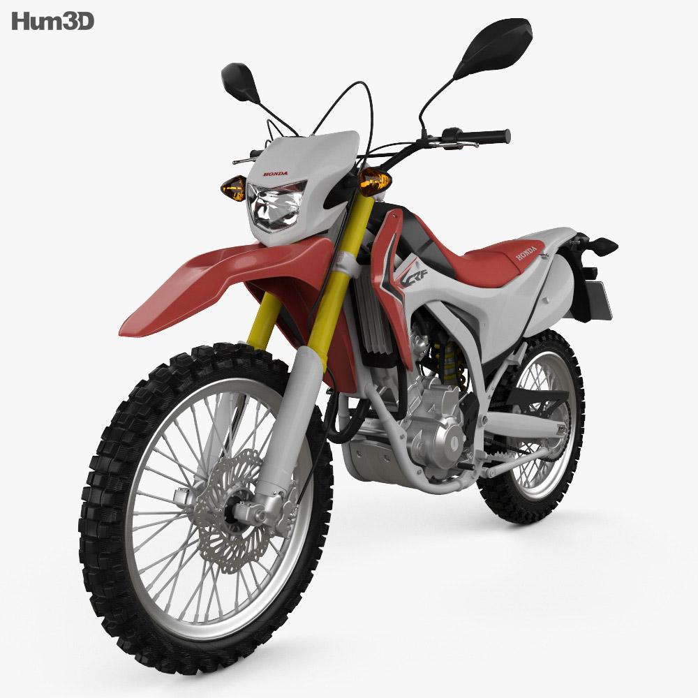 Honda CRF250L 2013 3d model