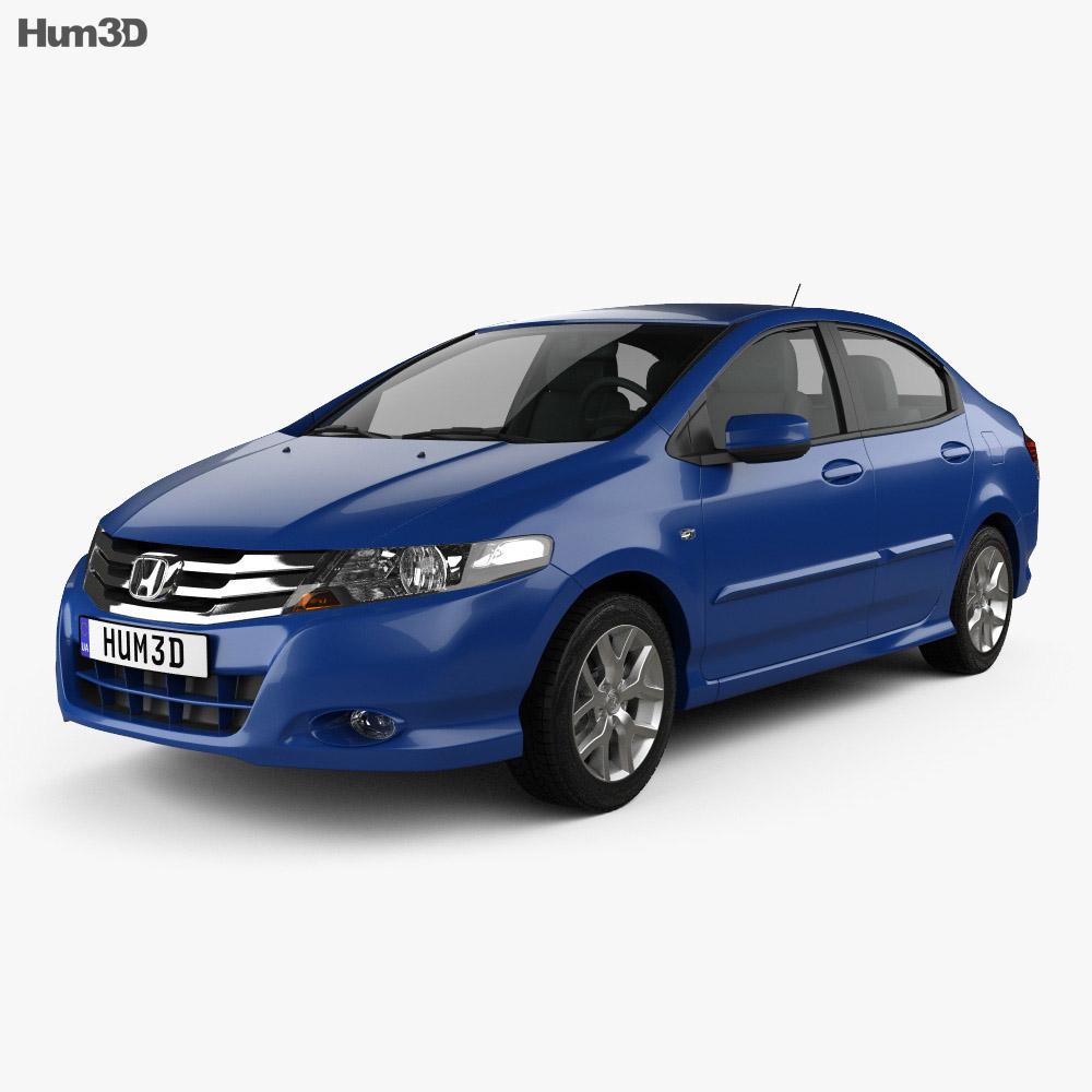 Honda City 2012 3d model
