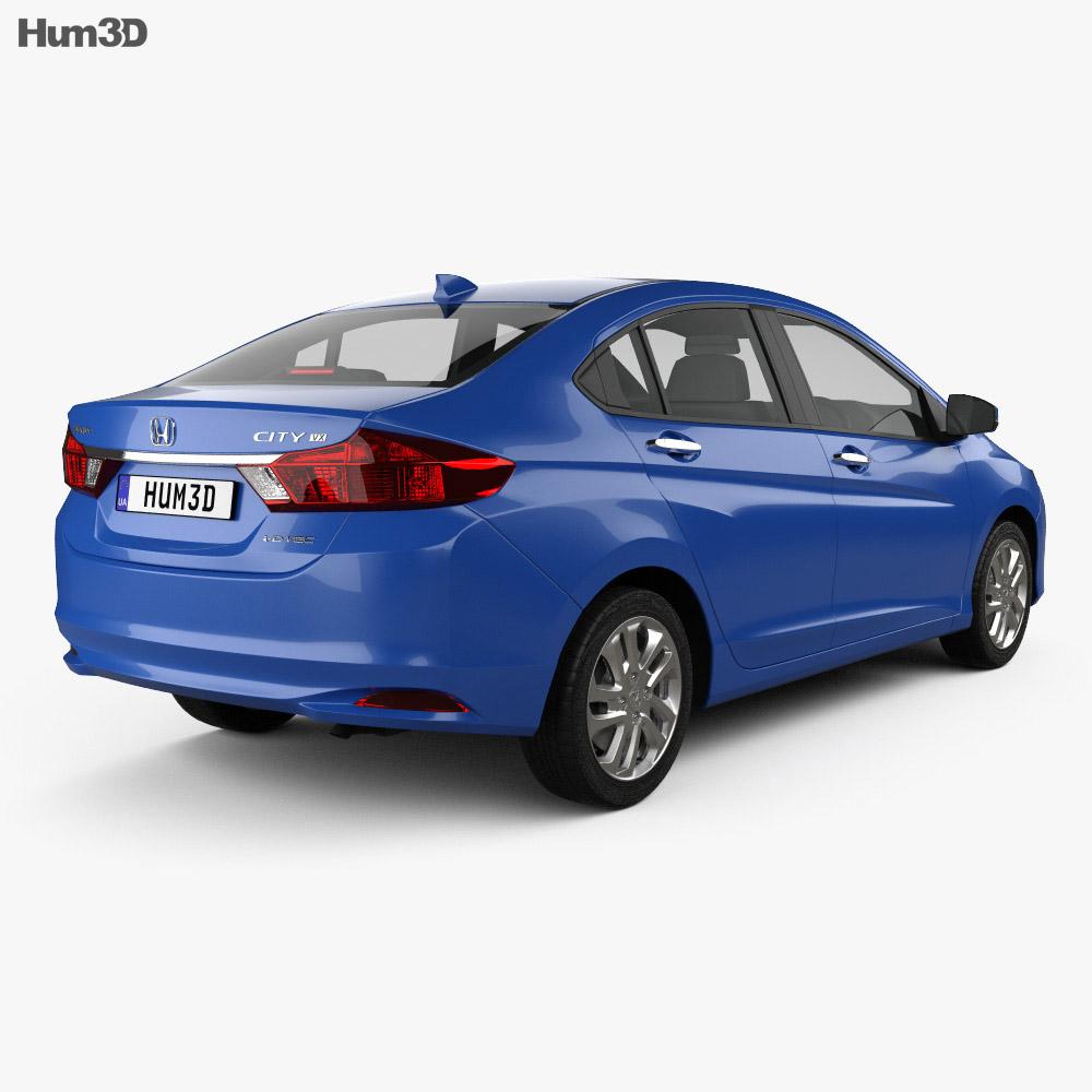 Honda City 2013 3d model