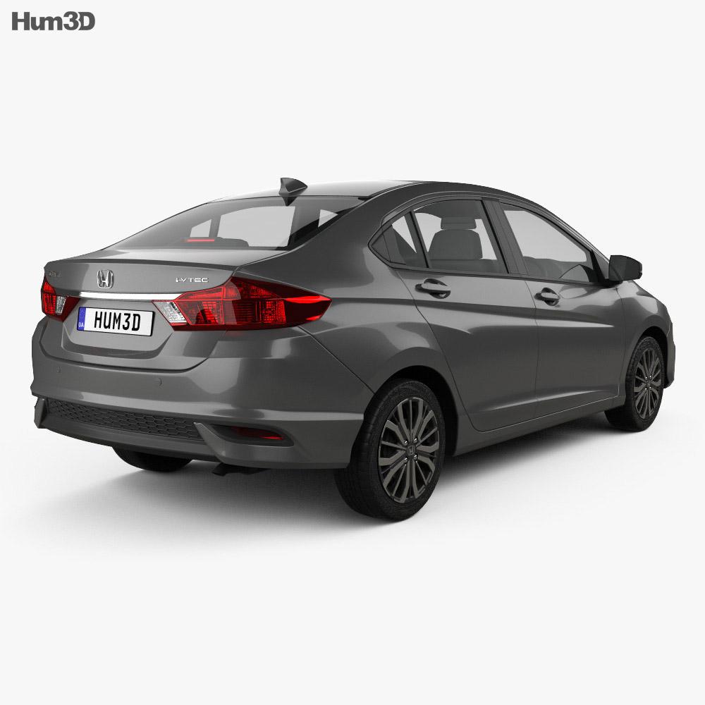 Honda City 2017 3d model