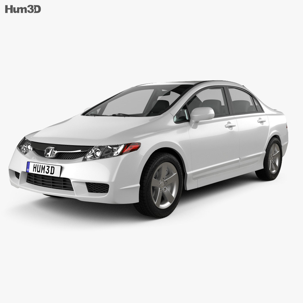 Honda Civic Sedan 2009 3d model