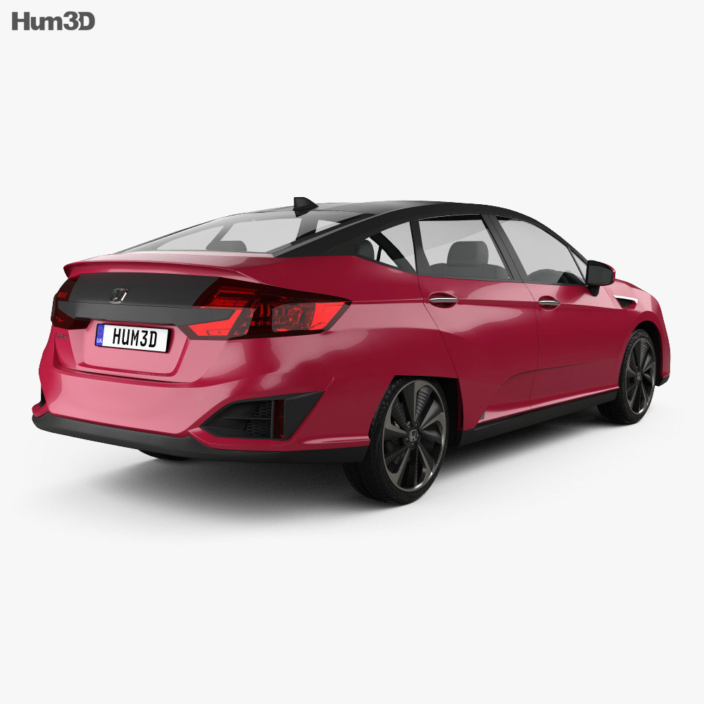Honda FCX Clarity 2016 3d model