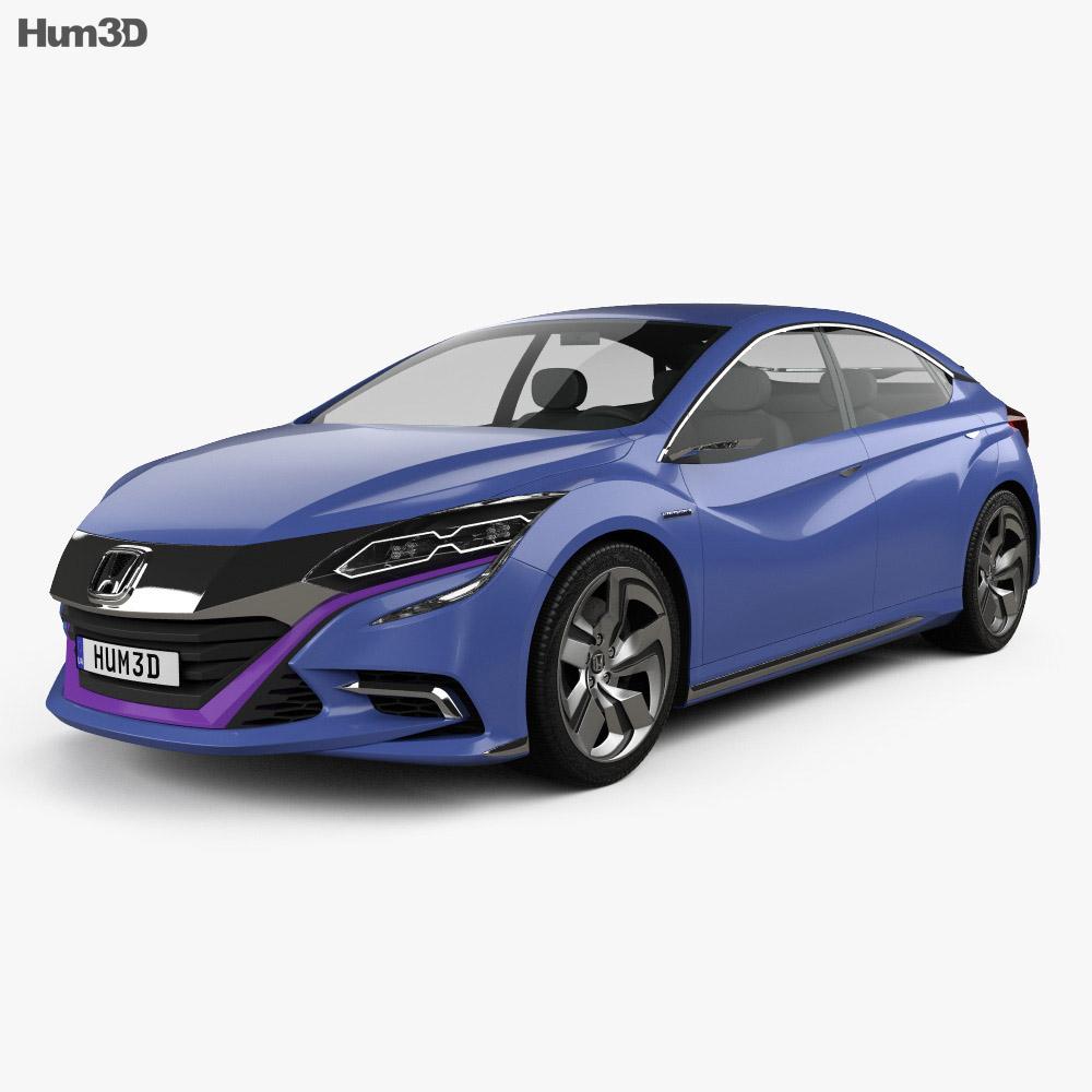 Honda B 2014 3d model