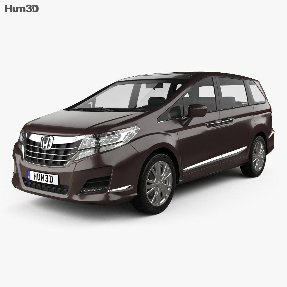 Honda Elysion 2016 3d model