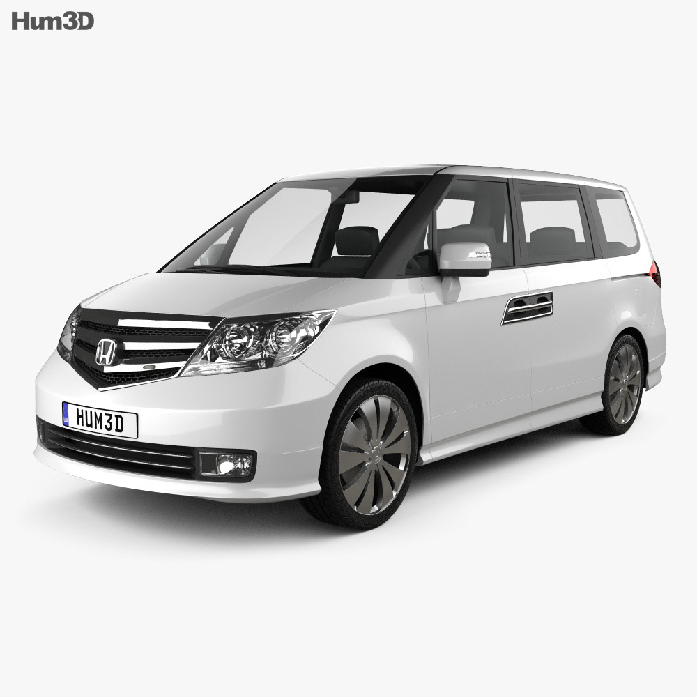 Honda Elysion 2012 3d model