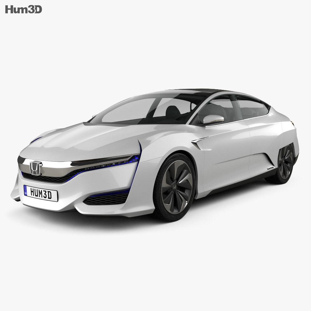 Honda FCV 2015 3d model