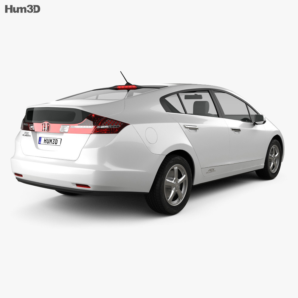 Honda FCX Clarity 2010 3d model