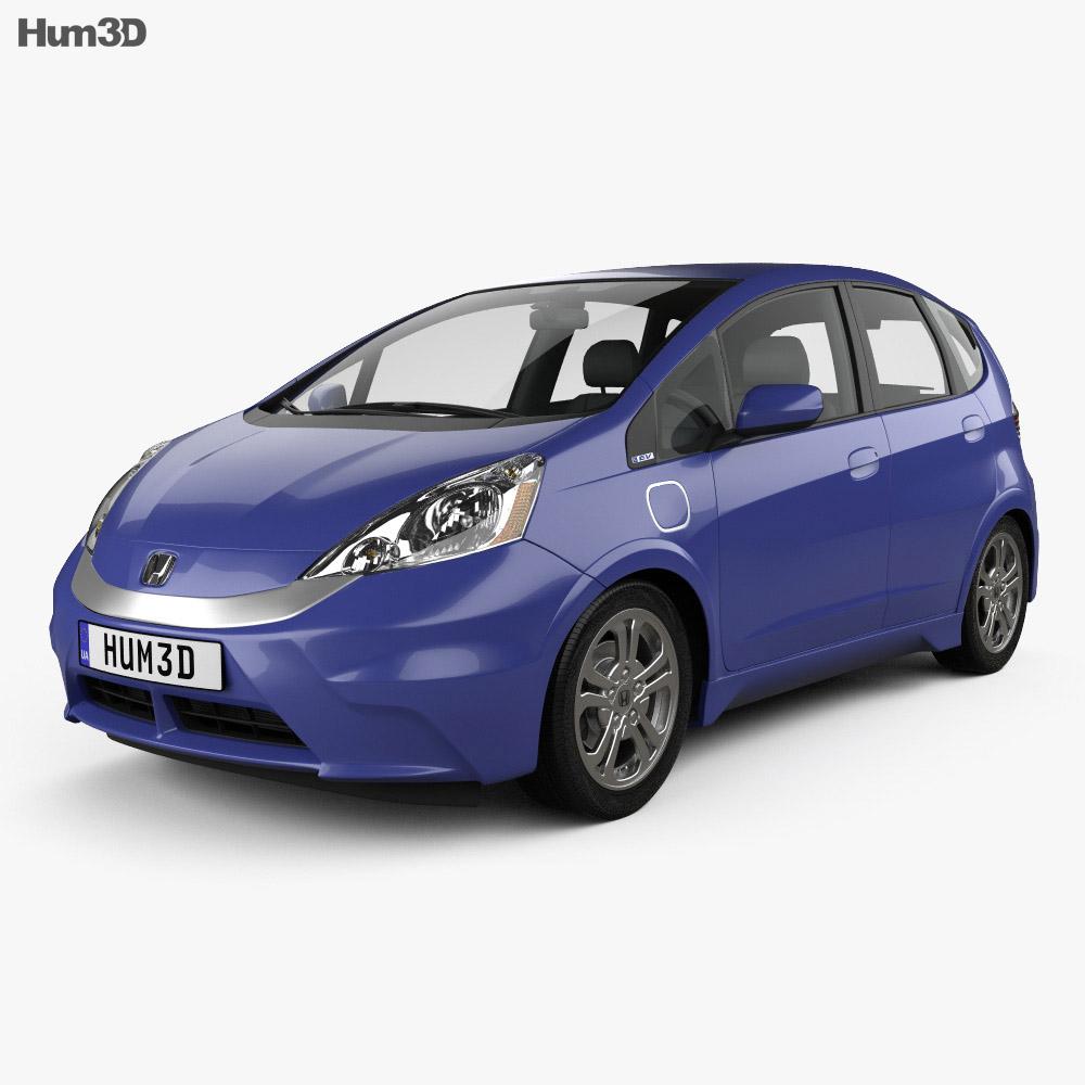 Honda Fit (Jazz) EV 2013 3d model