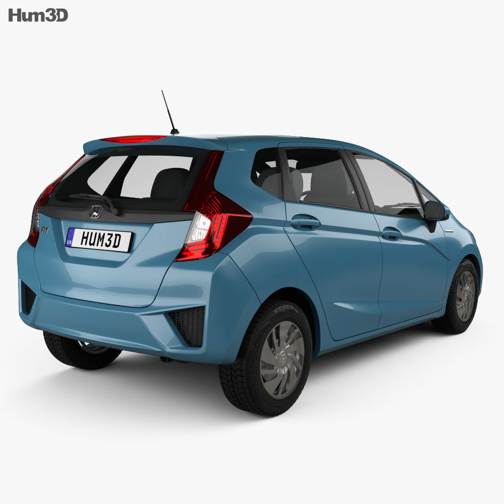 Honda Fit (Jazz) 2014 3d model