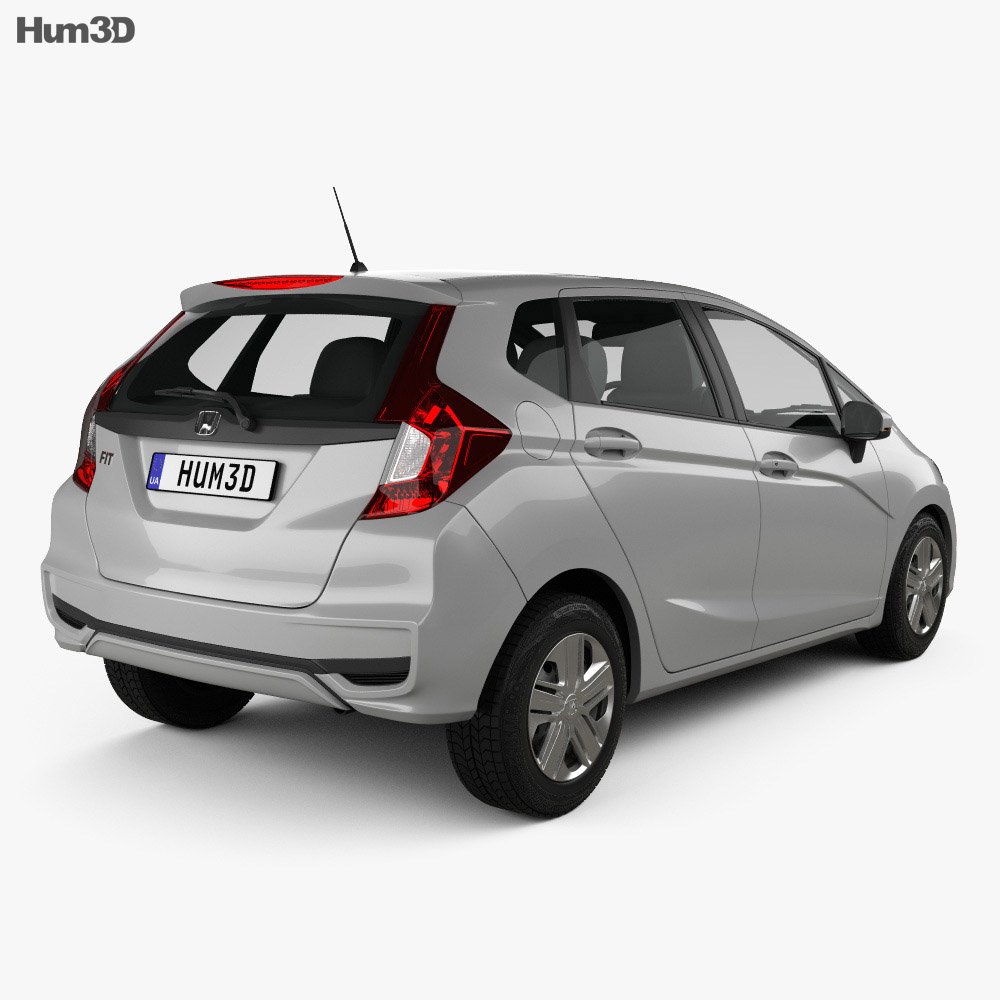 Honda Fit LX 2017 3d model