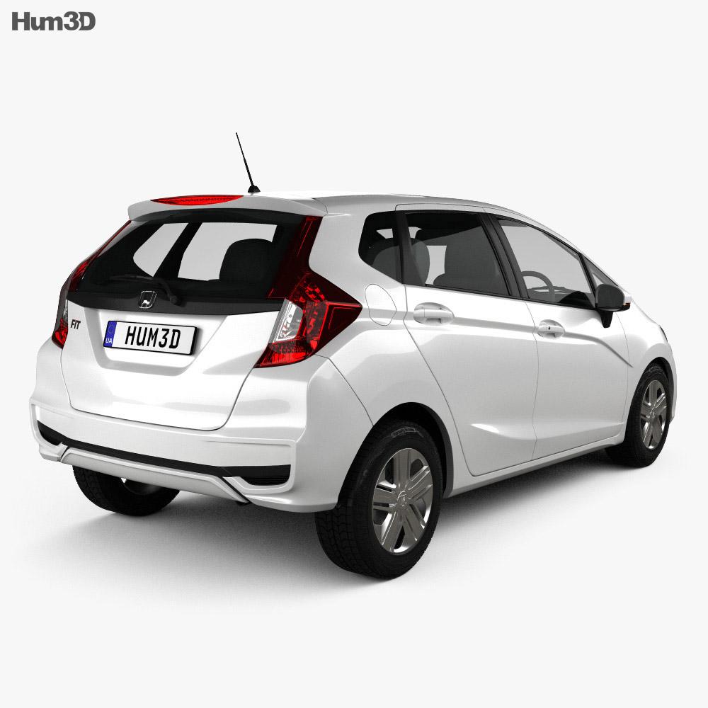 Honda Fit JP-spec 2017 3d model