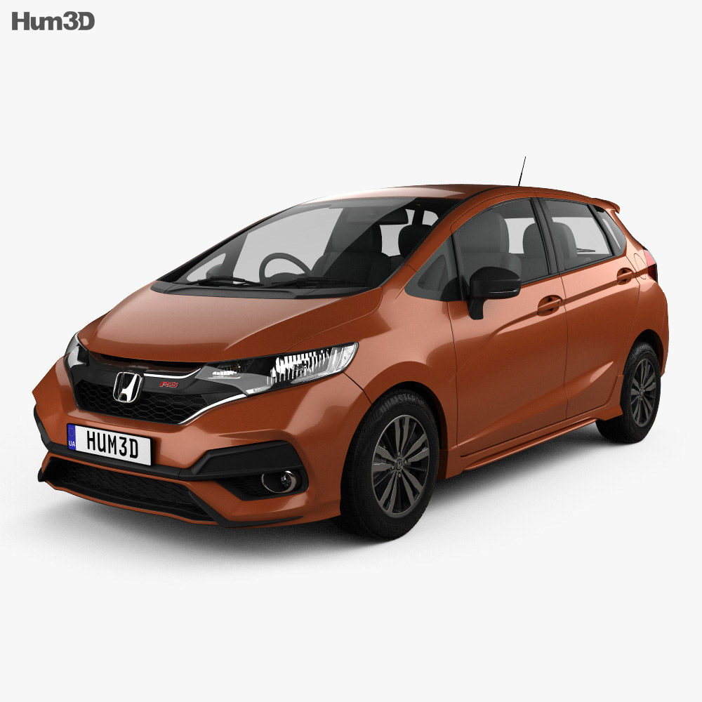 Honda Fit RS JP-spec 2017 3d model