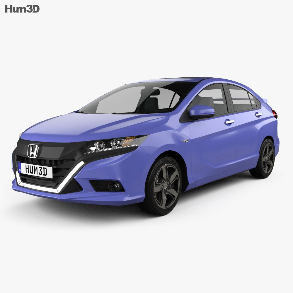 Honda gienia 2016 3d model hum3d for Honda 2016 models