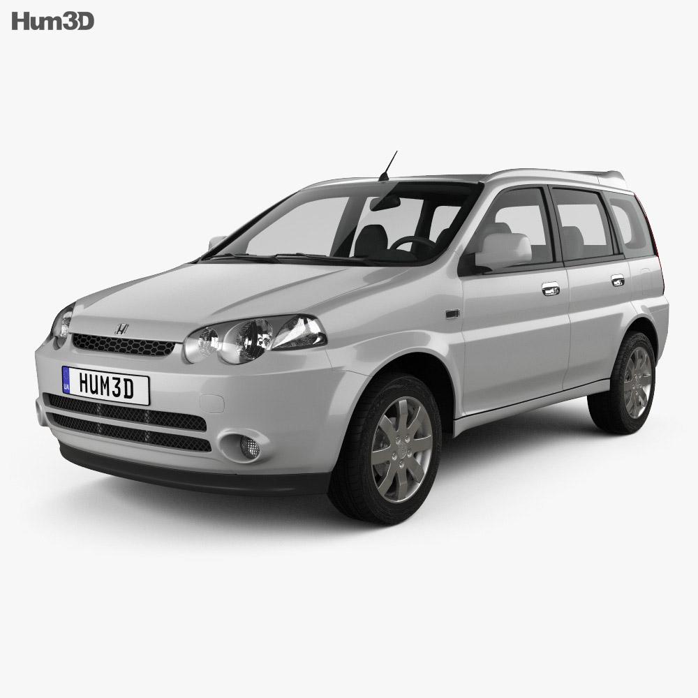 Honda HR-V 2001 3d model