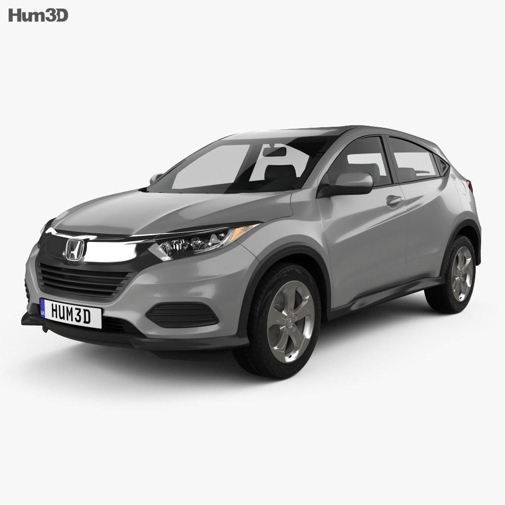 Honda HR-V LX 2018 3d model