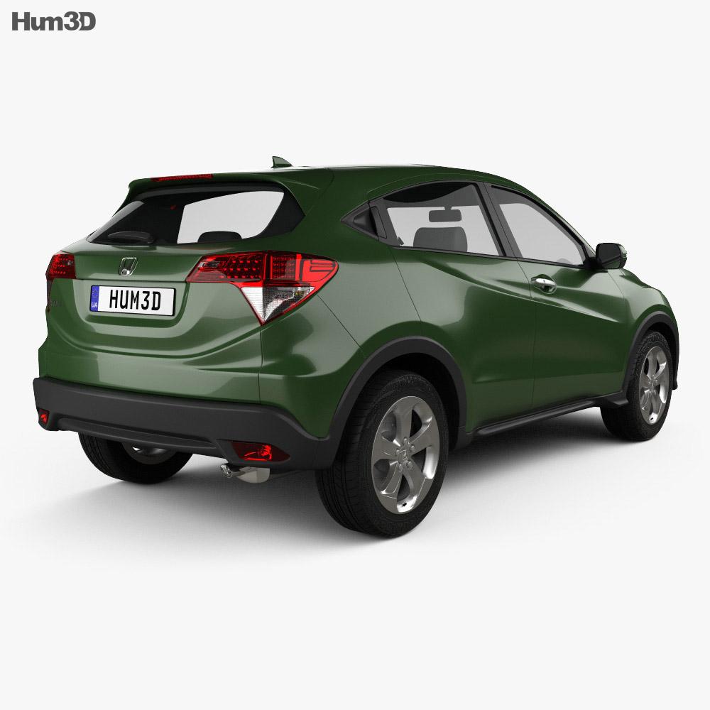 Honda HR-V LX 2015 3d model
