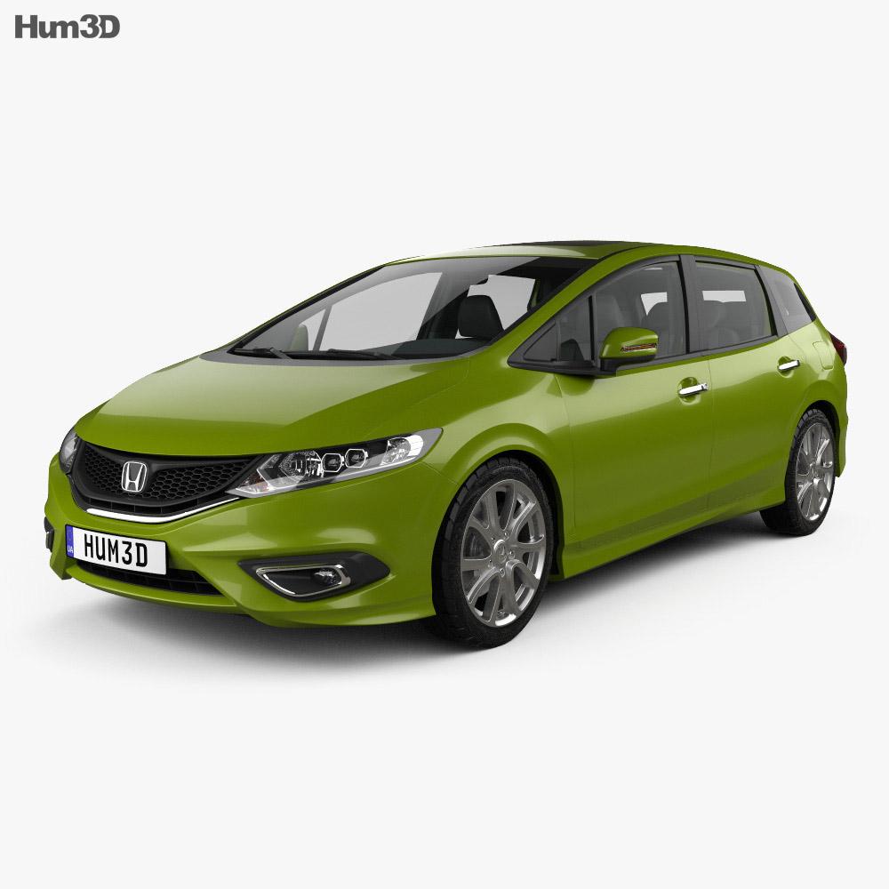 Honda Jade with HQ interior 2014 3d model