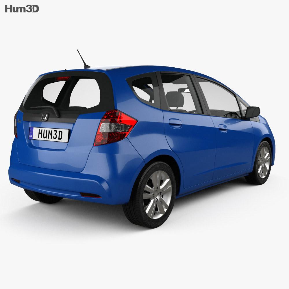 Honda Jazz 2010 3d model