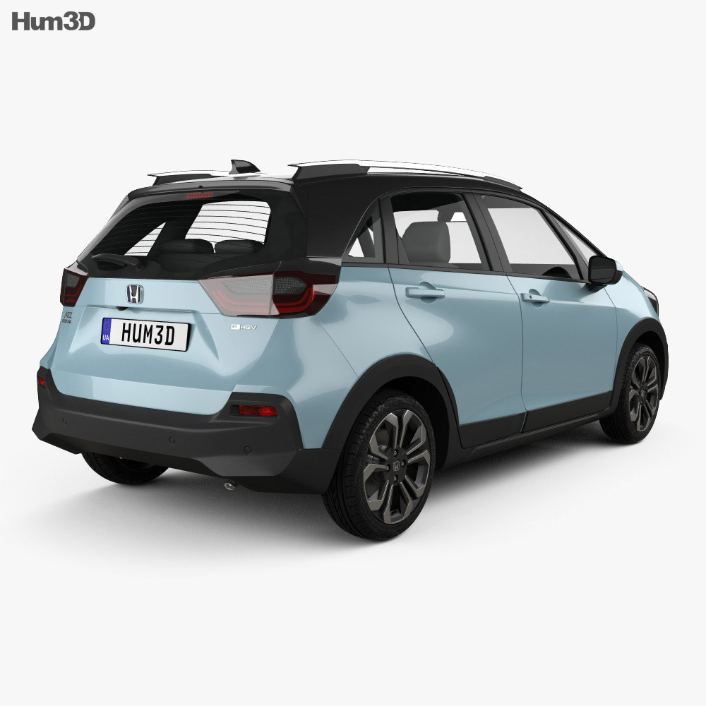 Honda Jazz e:HEV Crosstar 2020 3d model