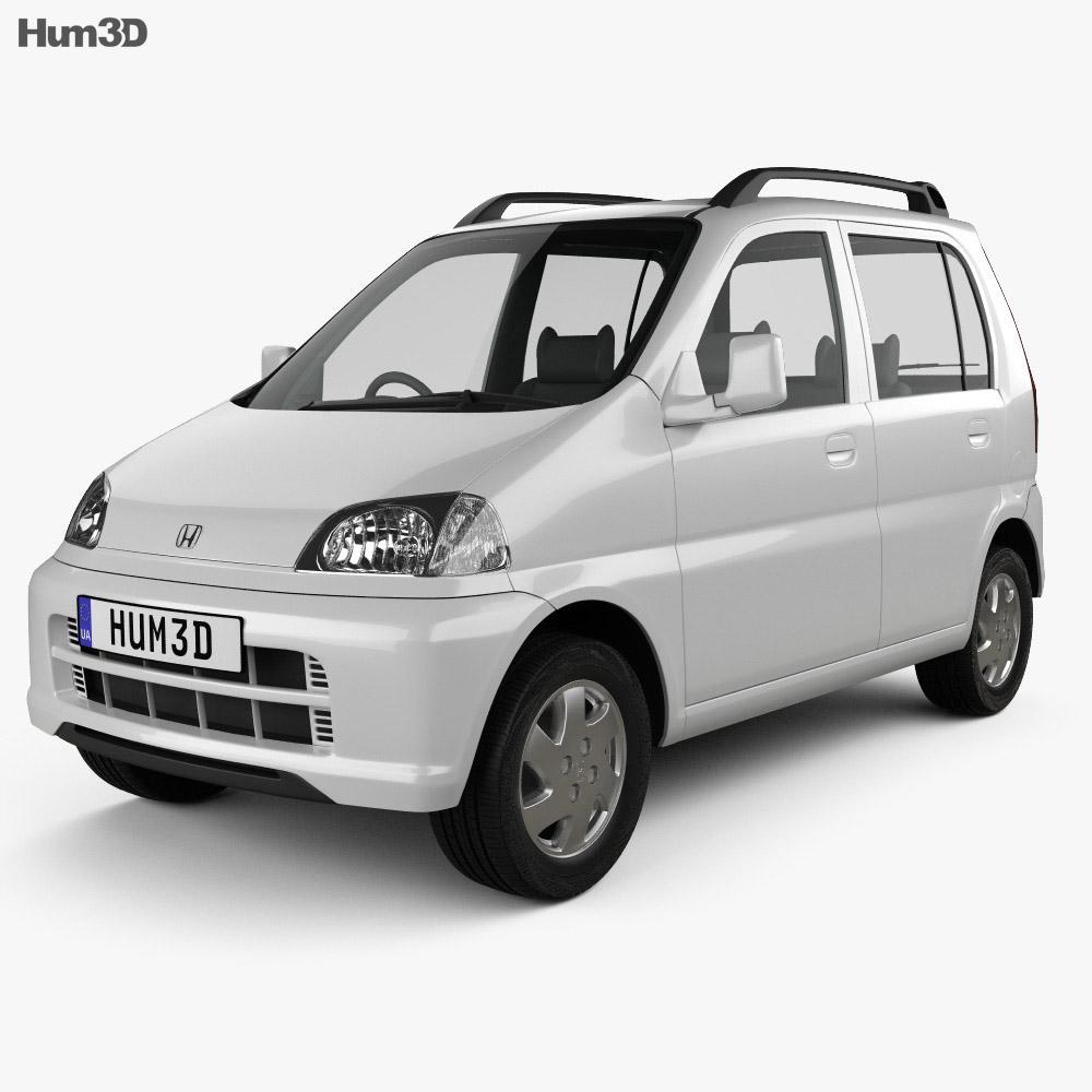 Honda Life 1997 3d model