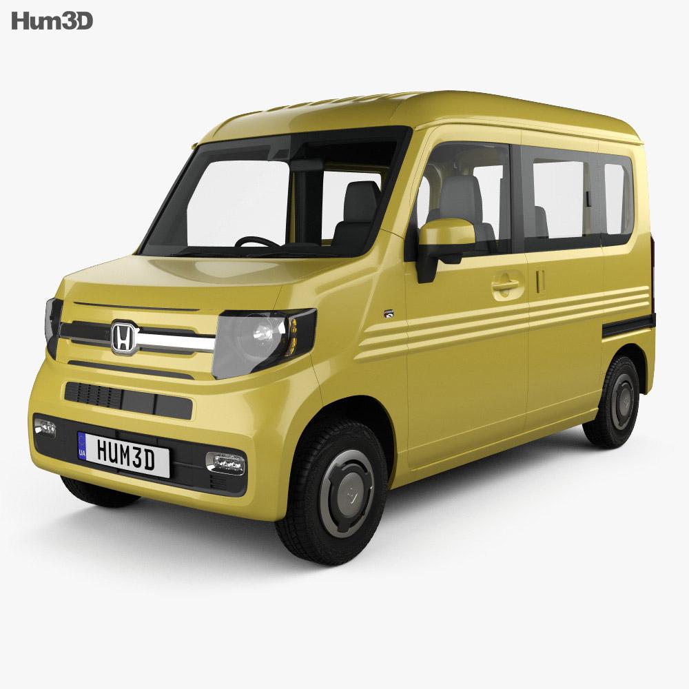 Honda N-Van Style Fun with HQ interior 2018 3D model ...