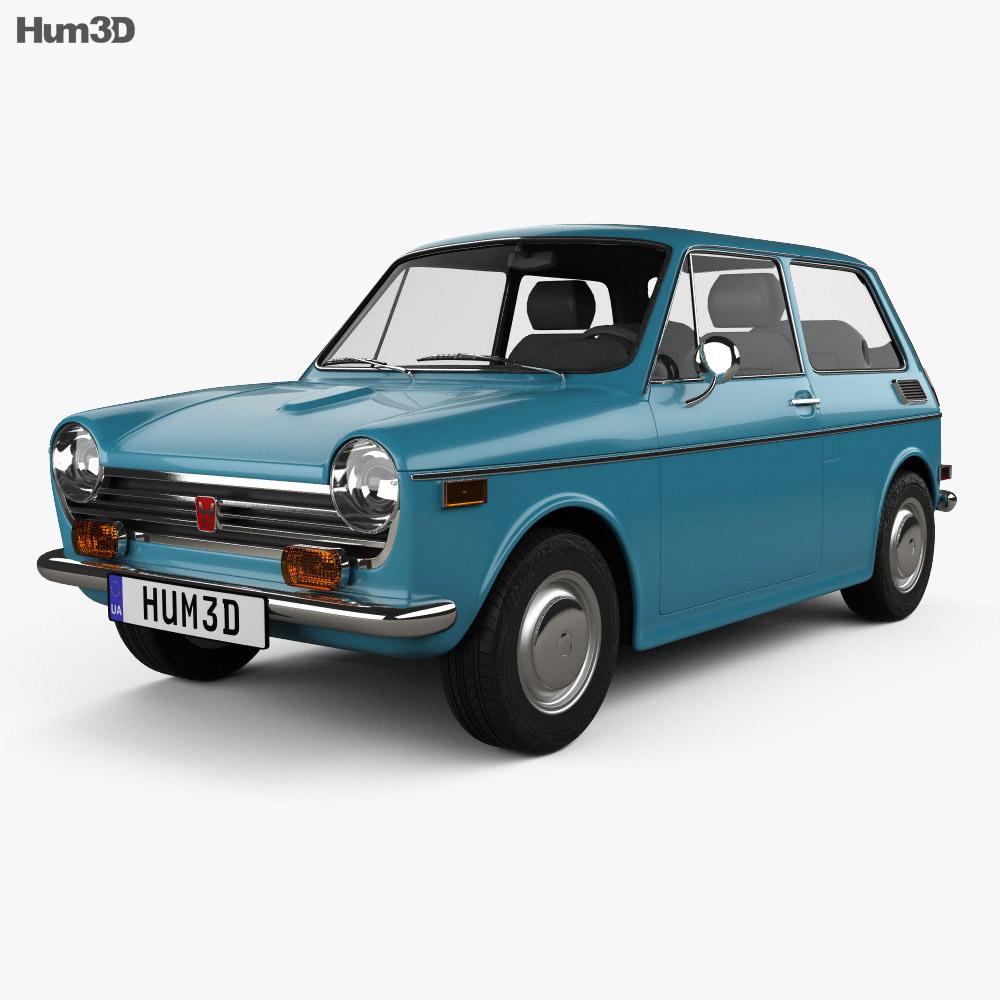 Honda N600 1970 3d model