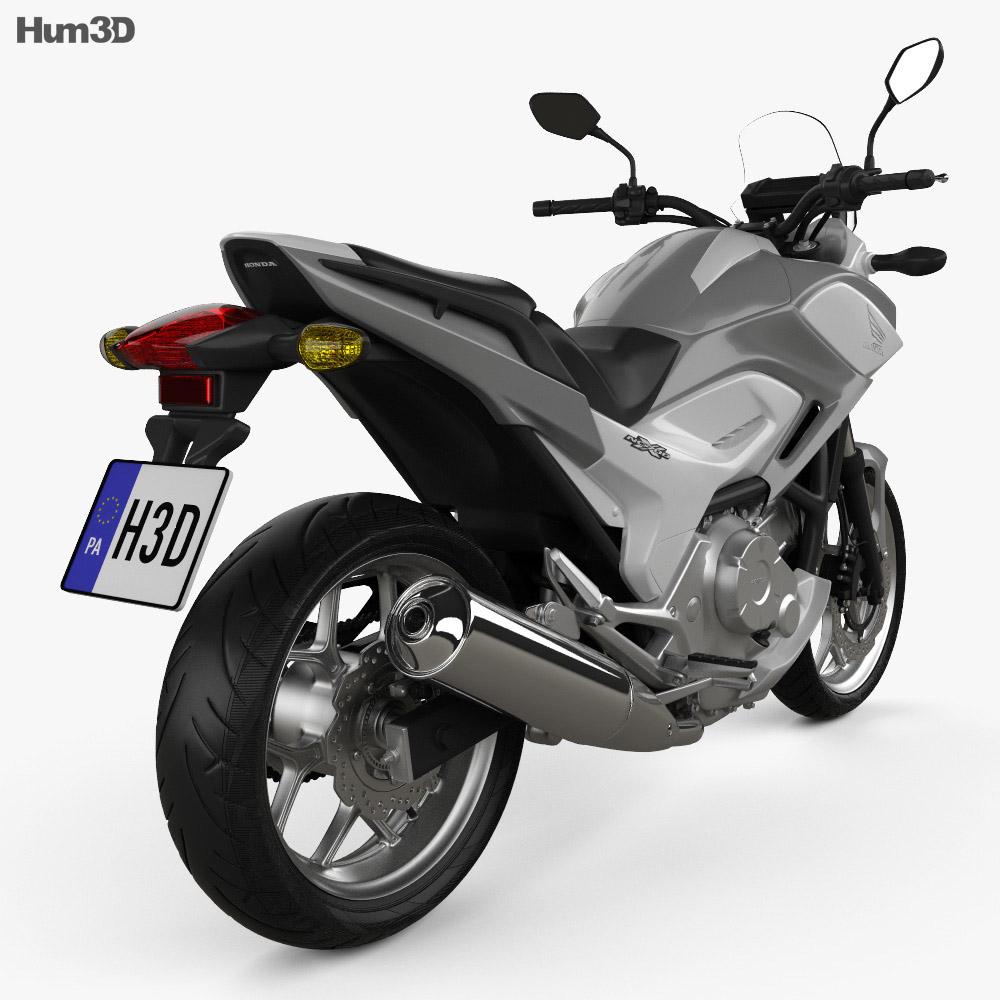 Honda NC700X 2012 3d model