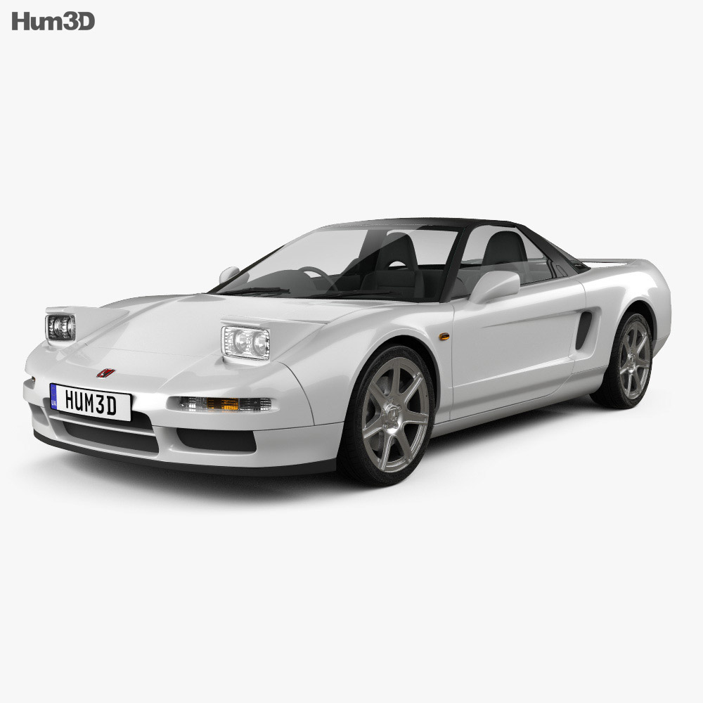 Honda NSX Type-R 1992 3d model