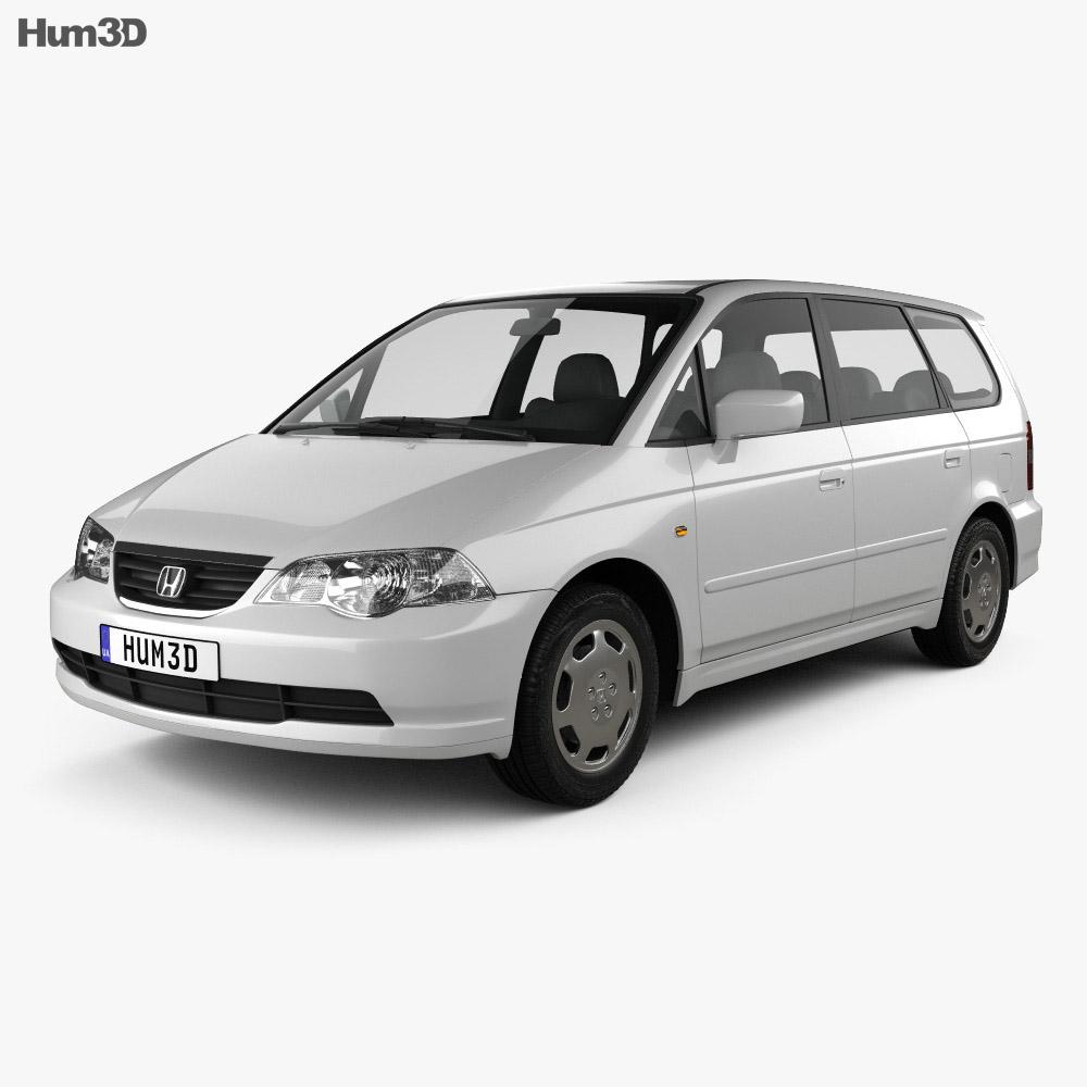 Honda Odyssey (JP) 1999 3d model
