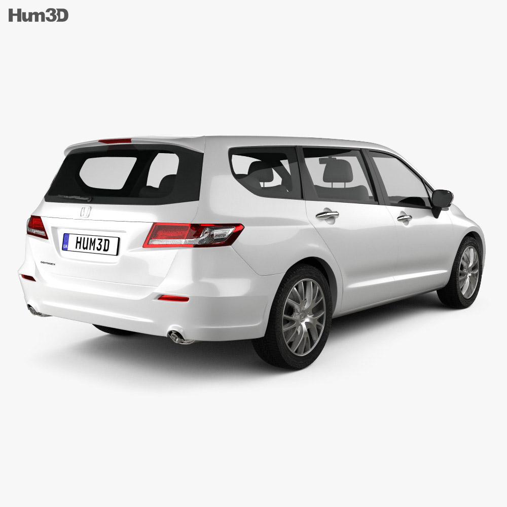Honda Odyssey (JP) 2008 3d model
