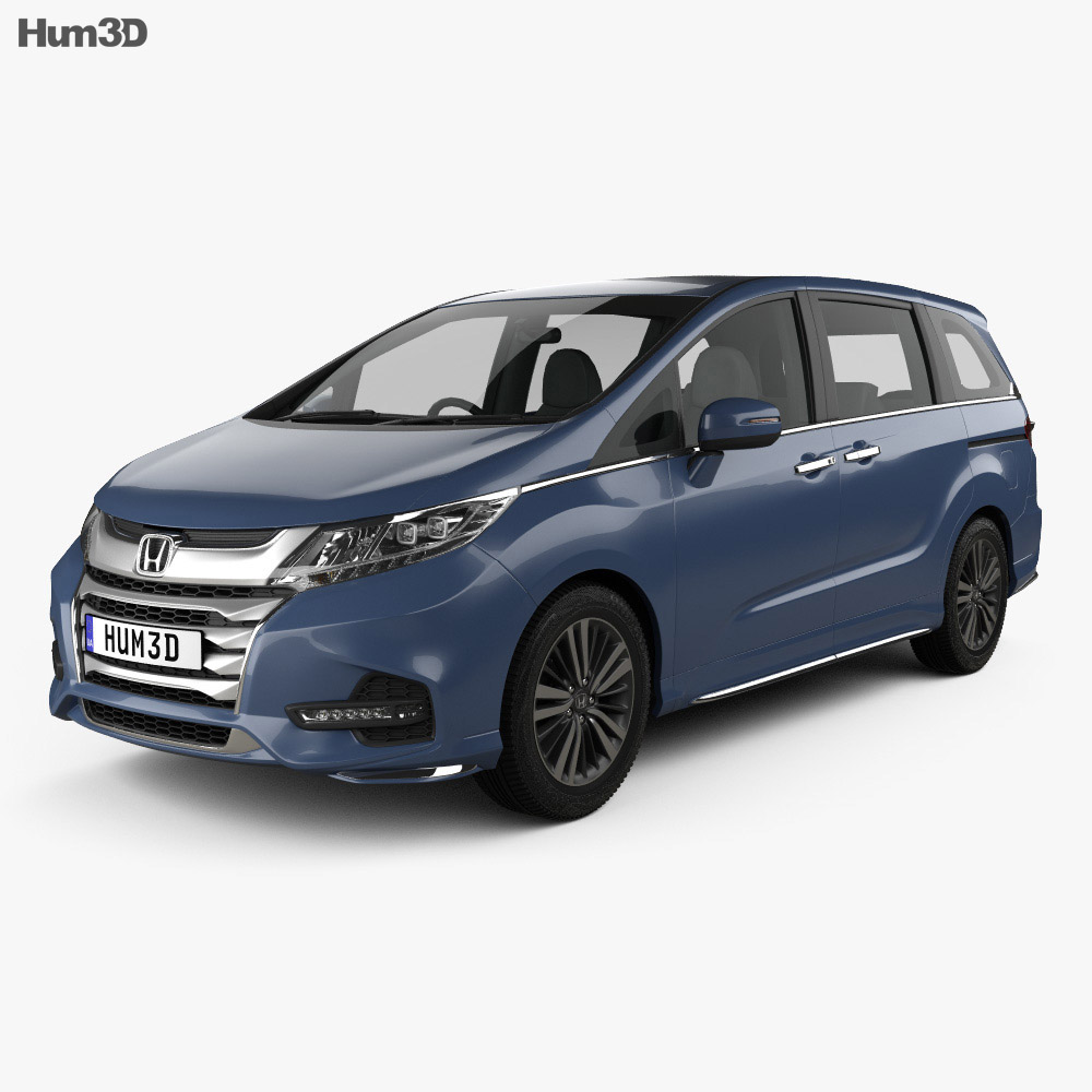 Honda Odyssey J EXV 2018 3d model