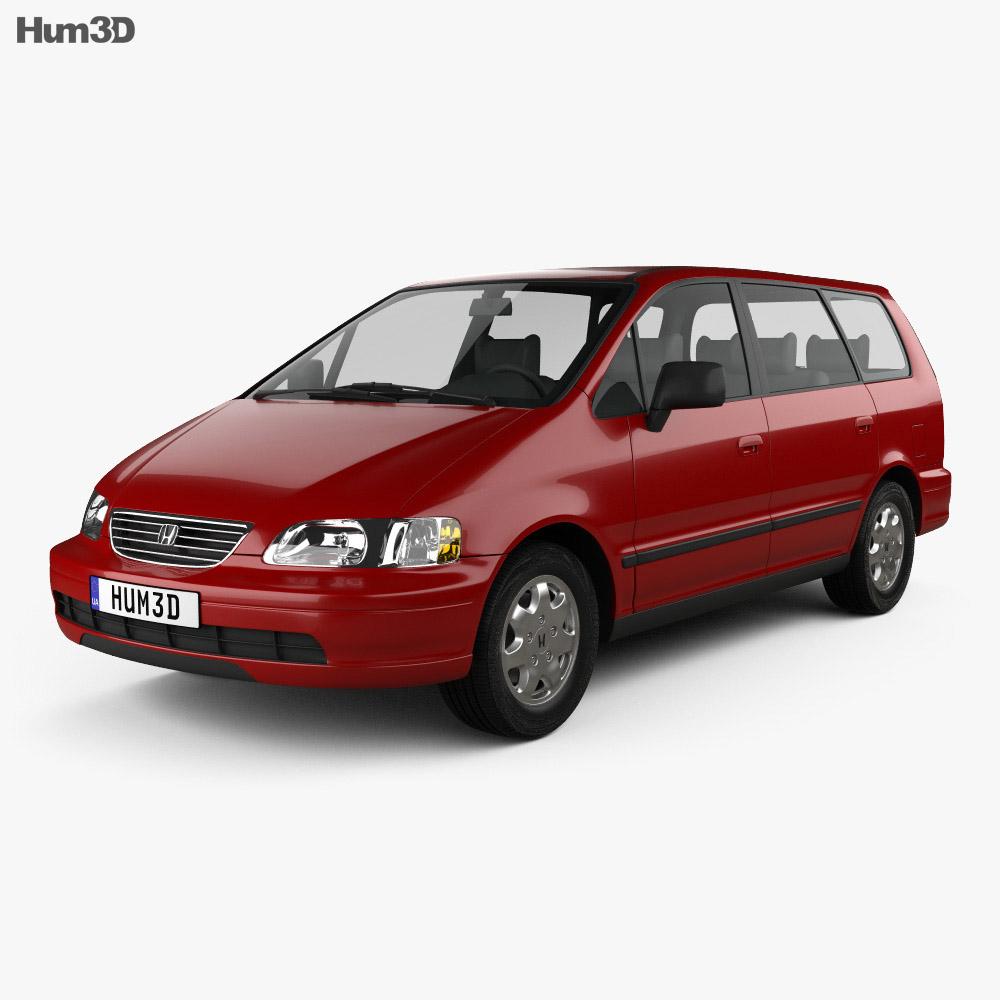 Honda Mini Vans: Honda Odyssey (RA1) 1994 3D Model