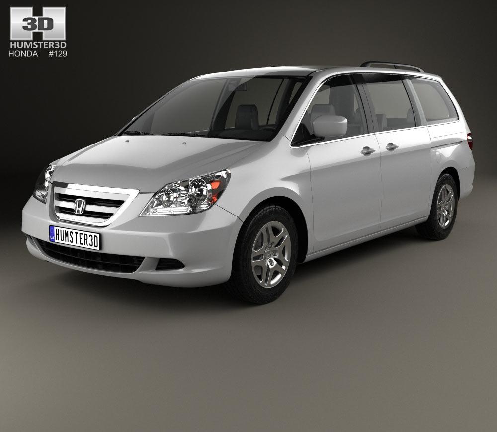 Honda Odyssey (US) 2005 3d model