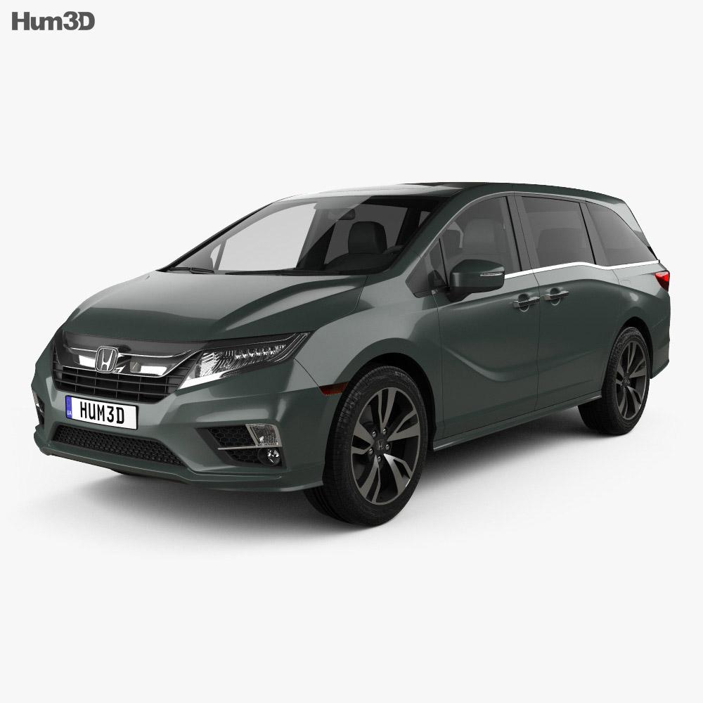 Honda odyssey elite 2018 3d model hum3d for Honda odyssey forum
