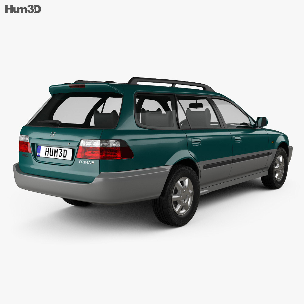 Honda Orthia (EL3) 1996 3d model
