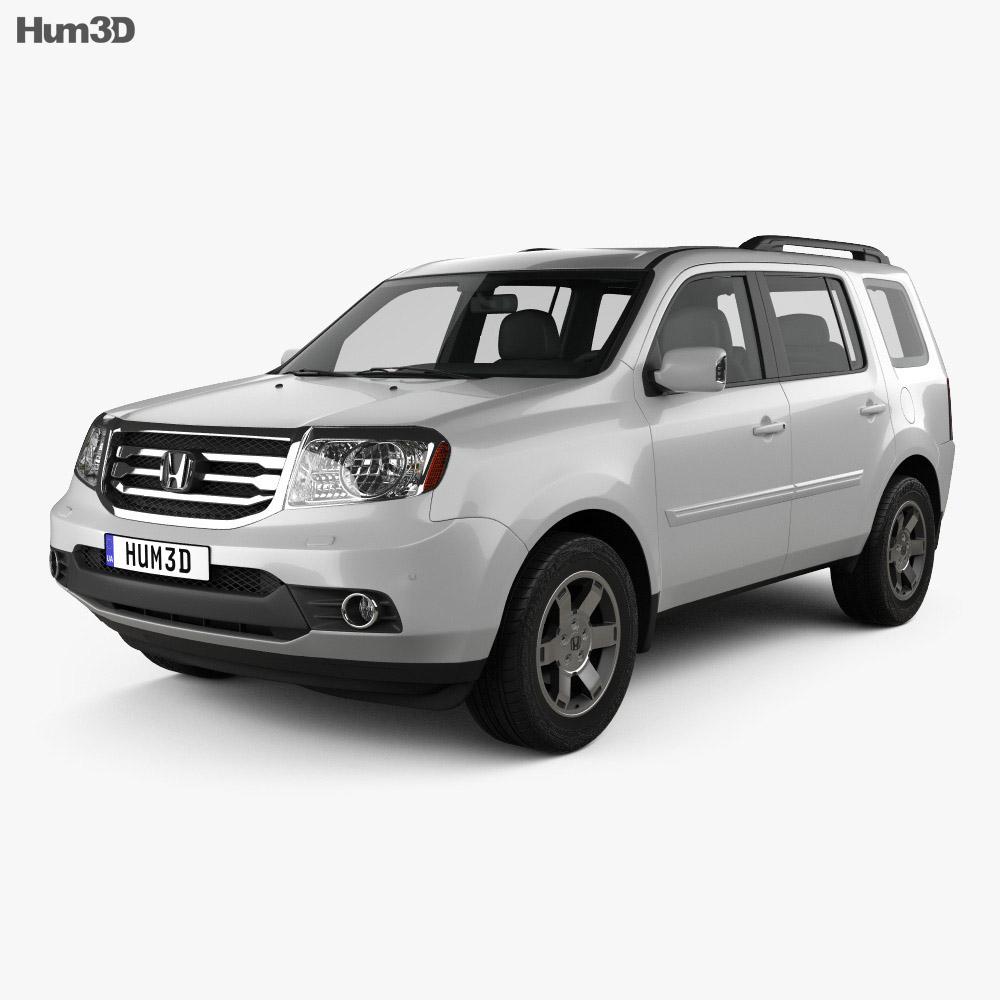 Honda Pilot (CIS) 2011 3d model