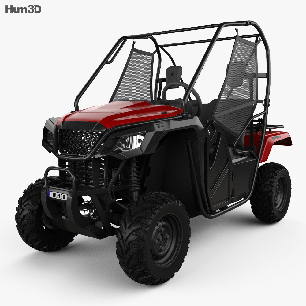 Honda Pioneer 500 2016 3d model