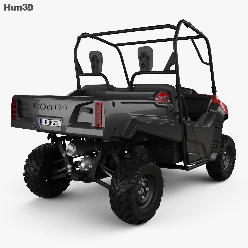 Honda Pioneer 700-2 2016 3d model