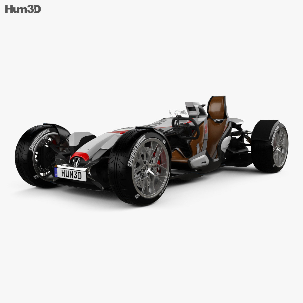 Honda Project 2&4 Ultimate Roadster 2015 3d model