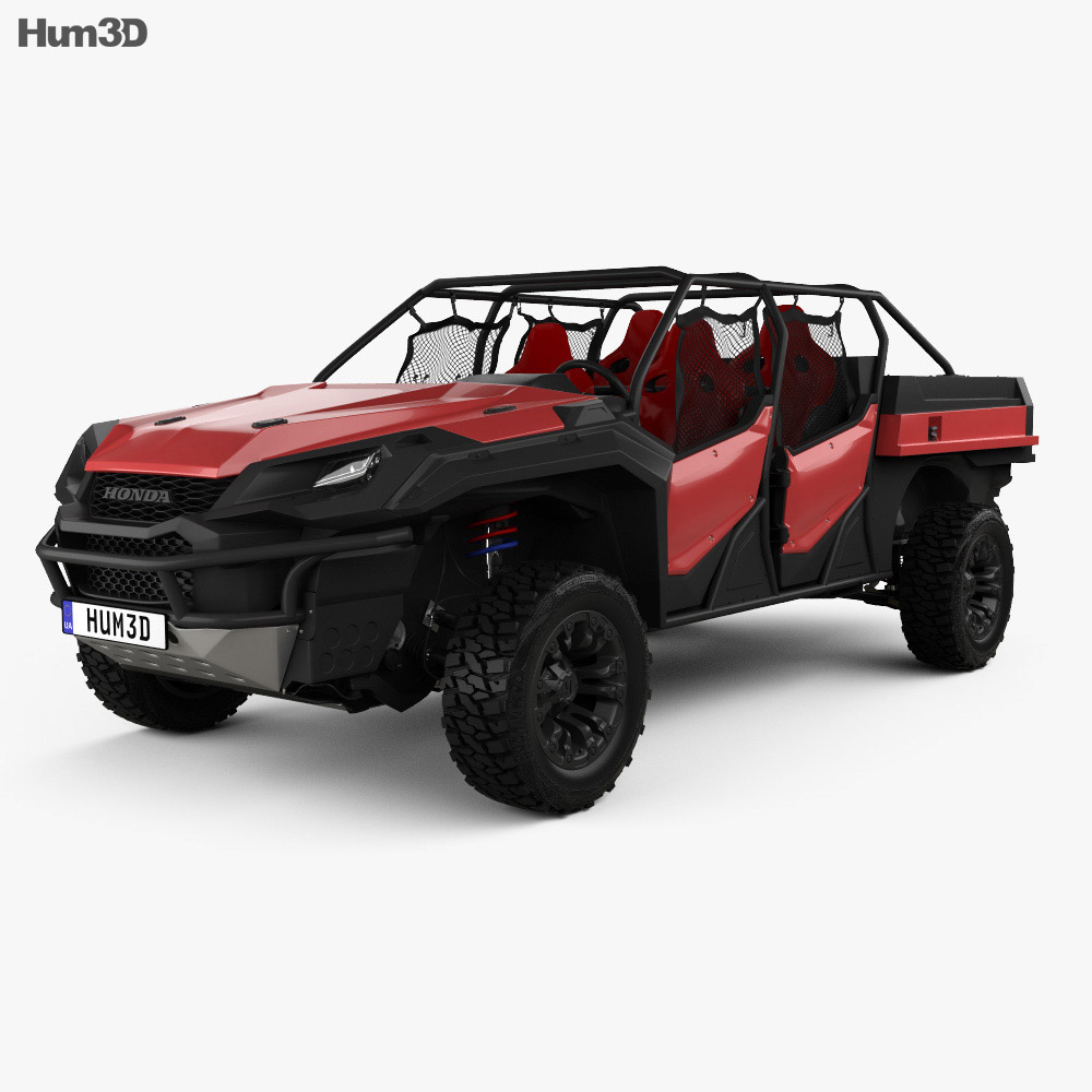 Honda Rugged Open Air Vehicle 2018 3d model