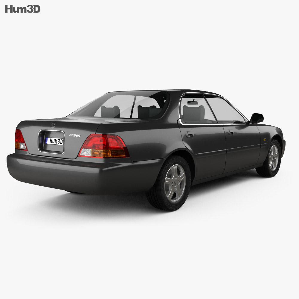 Honda Saber (UA1) 1995 3d model