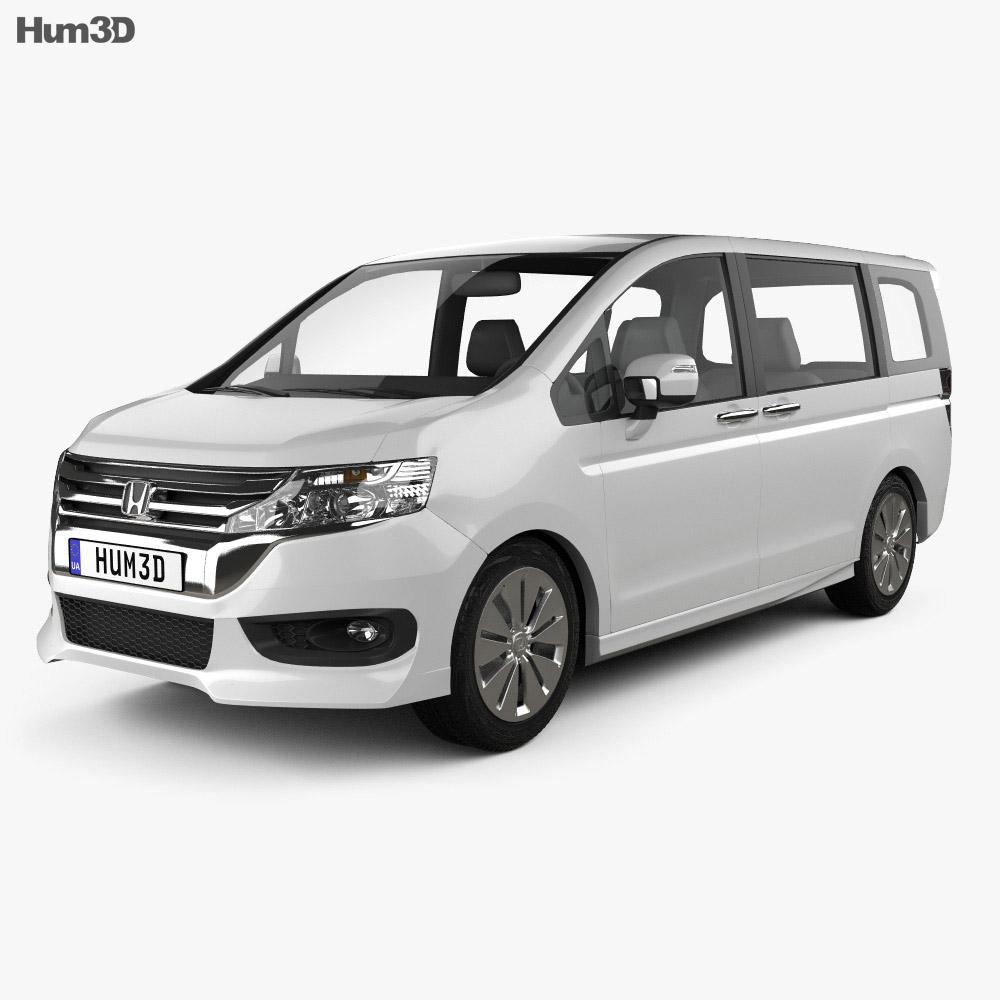 Honda Stepwgn RK 2012 3d model