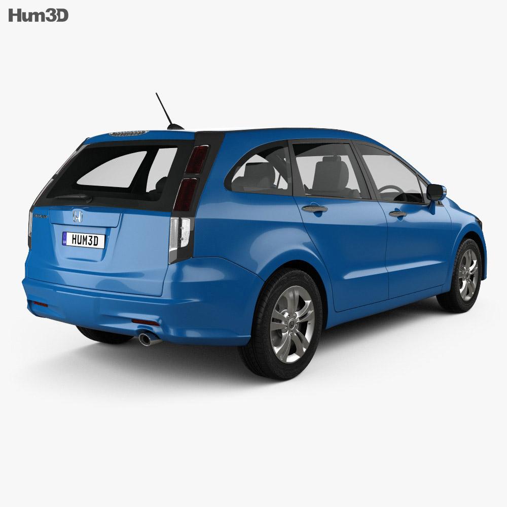 Honda Stream 2009 3d model