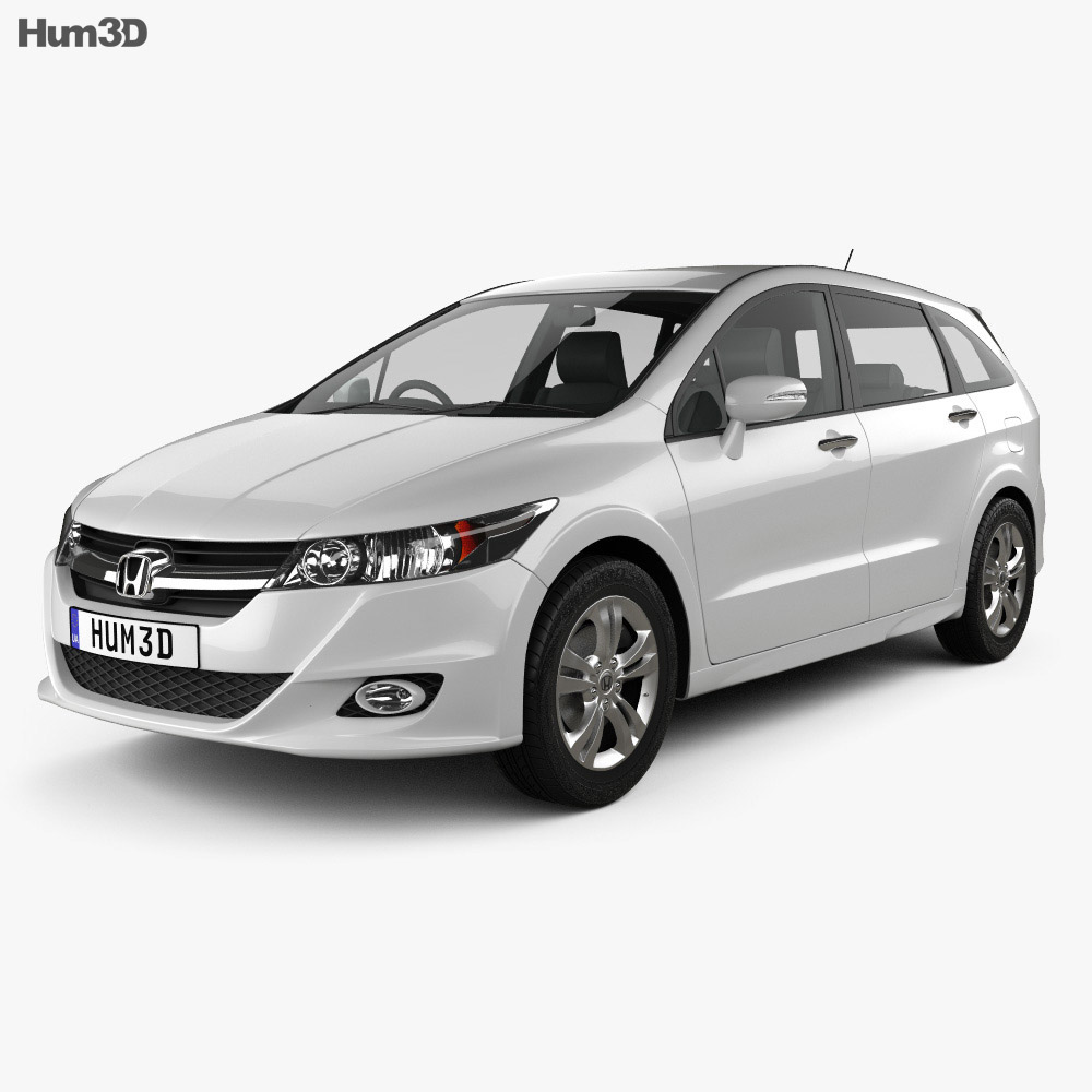 Honda Stream RSZ 2009 3d model