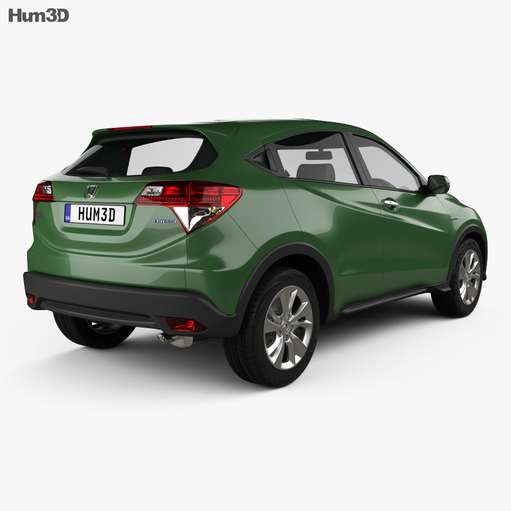 Honda Vezel (HR-V) 2014 3d model