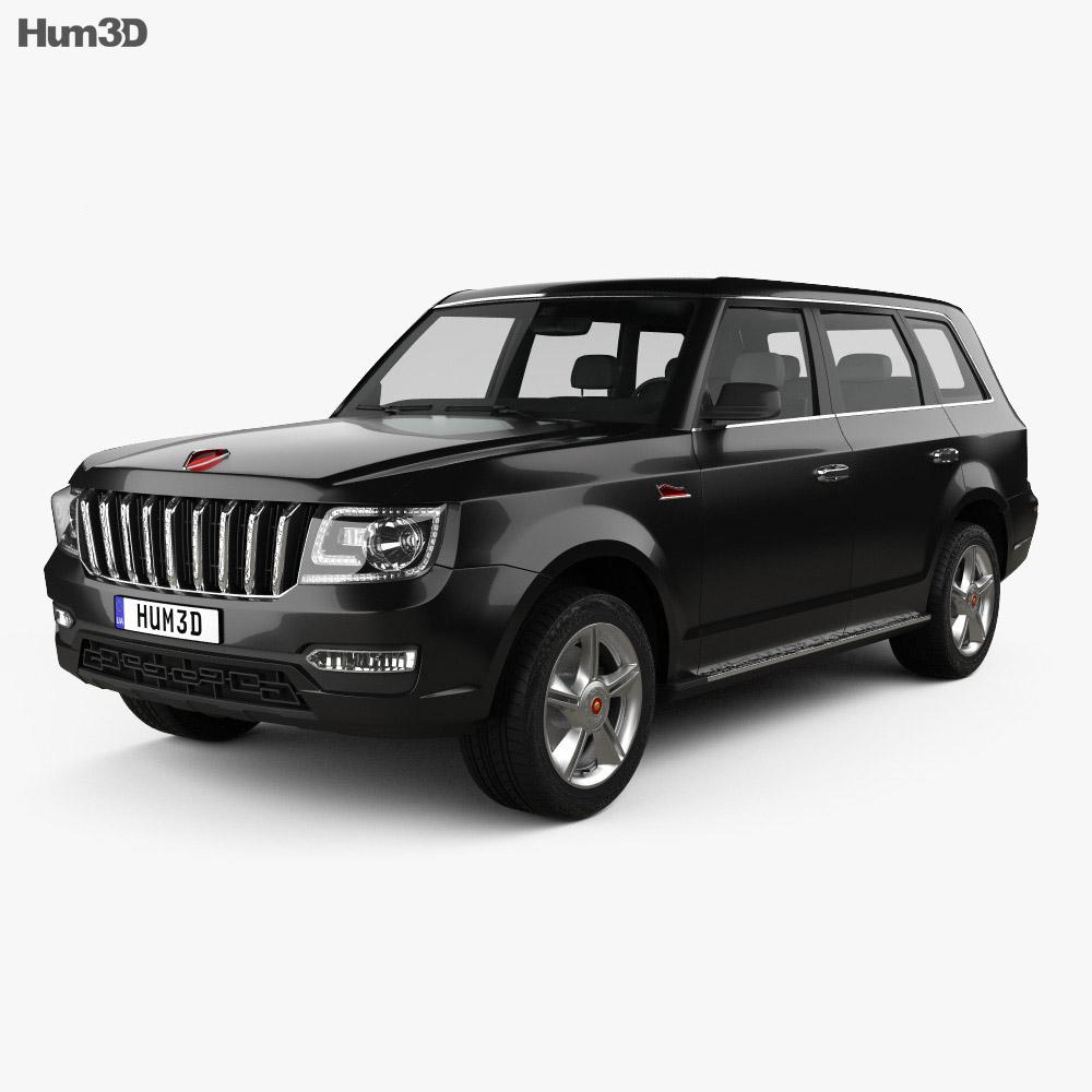 Hongqi LS5 2018 3d model