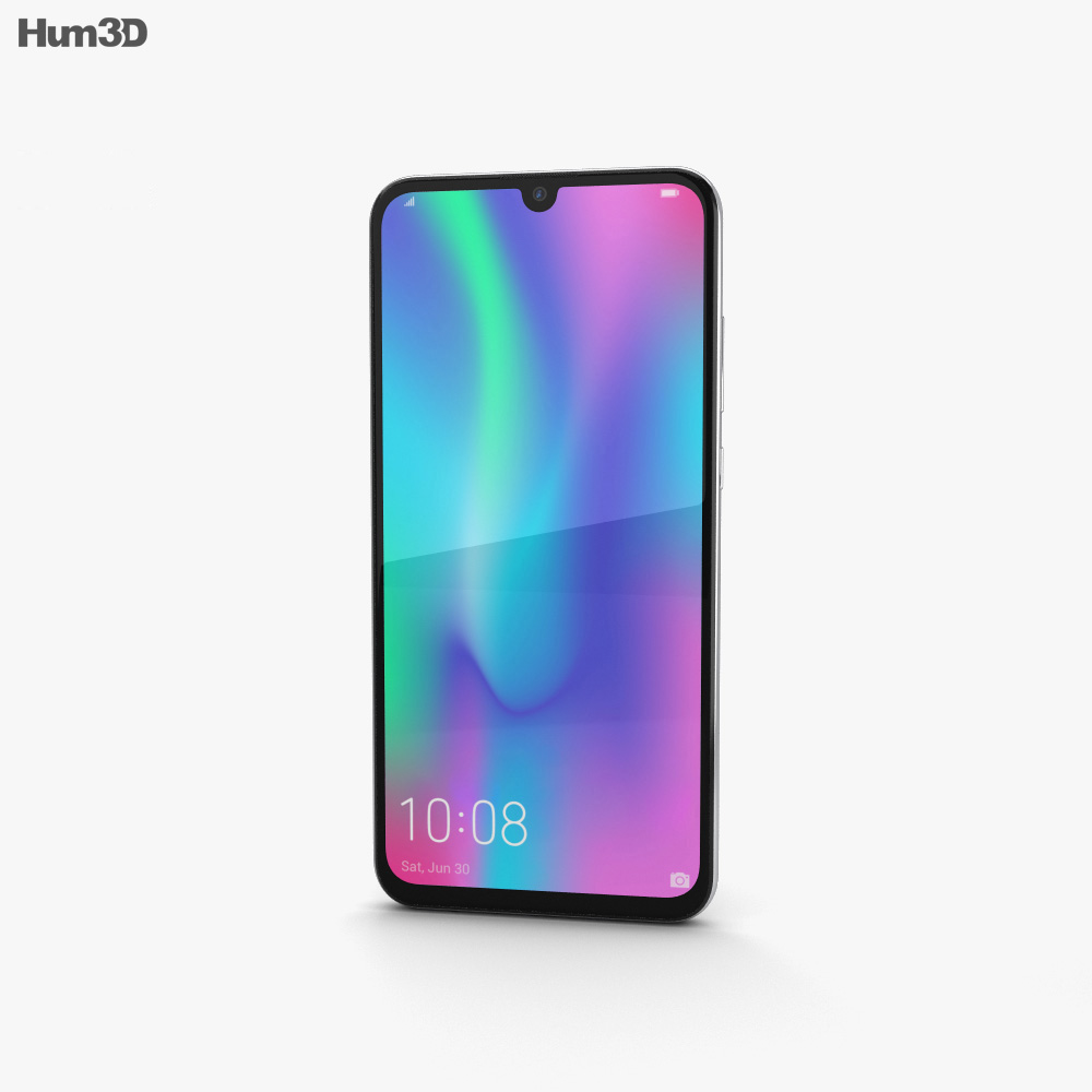 Honor 10 Lite White 3d model