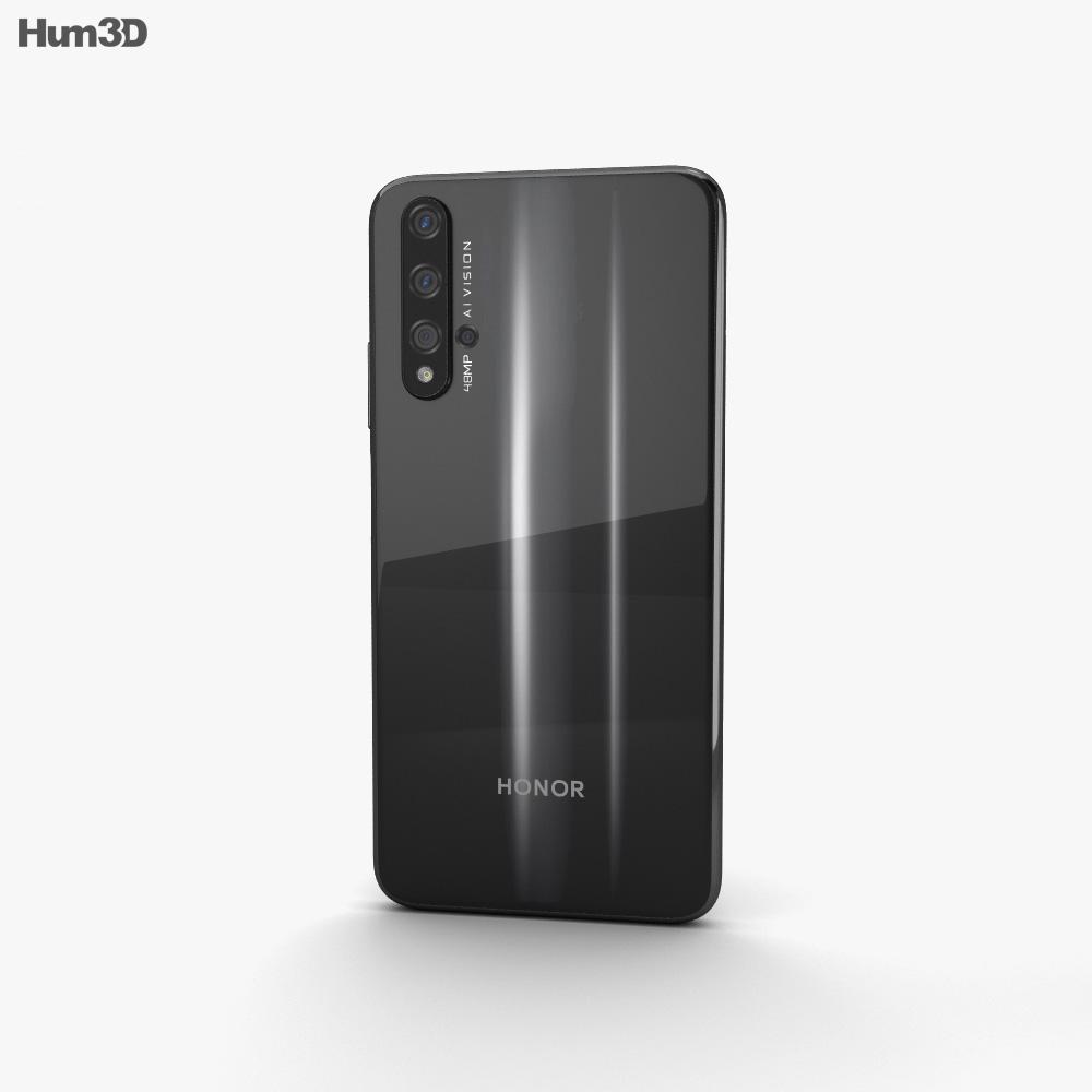 Honor 20 Midnight Black 3d model